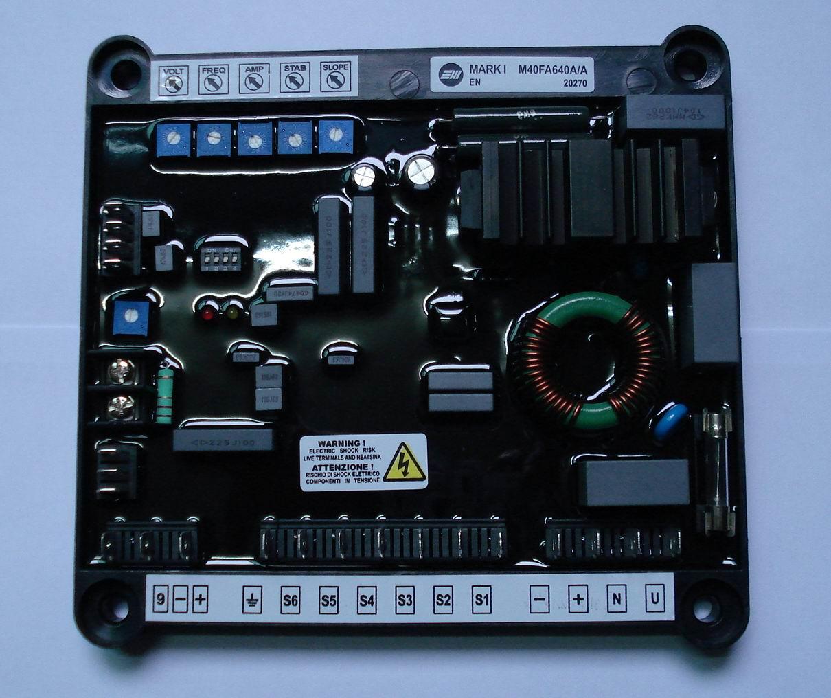 Alternator Wiring Diagram Additionally Generator Avr Circuit Diagram